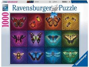 Ravensburger puzzle Okřídlení 100 dílků