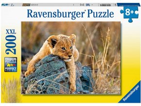 Ravensburger puzzle Malý lev XXL 200 dílků