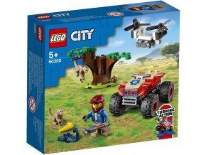 LEGO City 60300 Záchranářská čtyřkolka do divočiny