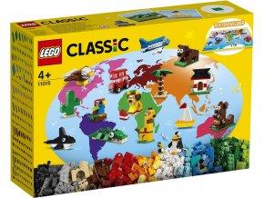 LEGO Classic 11015 Cesta kolem světa
