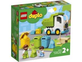 LEGO DUPLO 10945 Popelářský vůz a recyklování