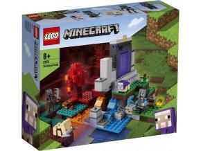 LEGO Minecraft 21172 Zničený portál