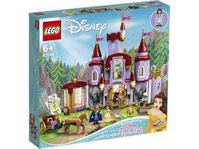 LEGO Disney Princezny 43196 Zámek Krásky a zvířete