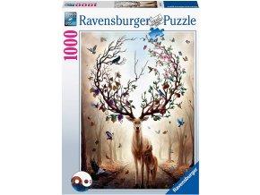 Ravensburger puzzle Bájný jelen 1000 dílků