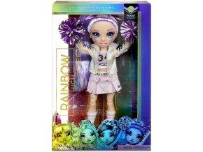 Rainbow High Fashion panenka - Roztleskávačka - Violet Willow