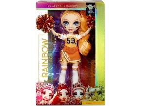 Rainbow High Fashion panenka - Roztleskávačka - Poppy Rowan