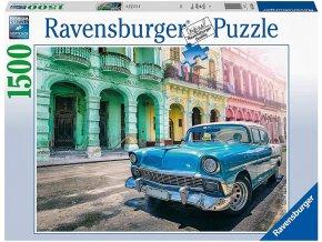 Ravensburger Auta na Kubě 1500 dílků