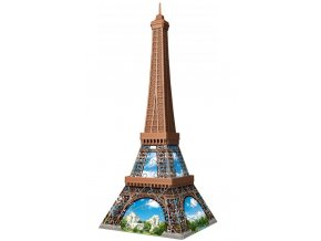 Ravensburger 3D Puzzle Mini budova Eiffelova věž 54 ks