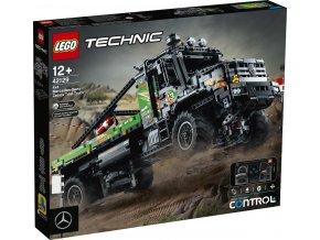 LEGO Technic 42129 Truck trialový vůz Mercedes-Benz Zetros 4x4