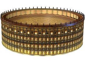 3D puzzle Koloseum Noční edice 216 dílků