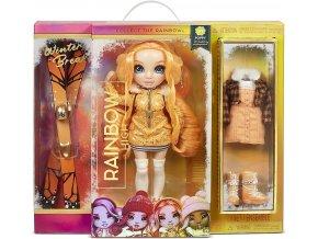 Rainbow High Zimní fashion panenka Poppy Rowan