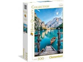 Clementoni Jezero Braies Itálie 500 dílků