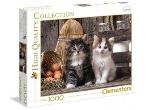 Clementoni Puzzle Koťátka 1000 dílků