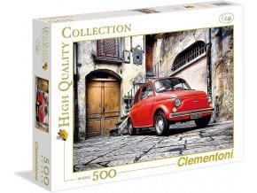 Clementoni Puzzle Fiat 500, 500 dílků