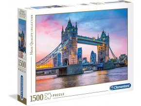 Clementoni Puzzle Tower Bridge 1500 dílků