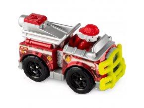 Spin Master Paw Patrol Kovová autíčka superhrdinů Marshall