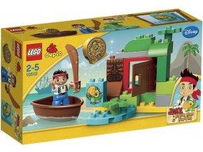 LEGO DUPLO 10512 Jakeova honba za pokladem 1