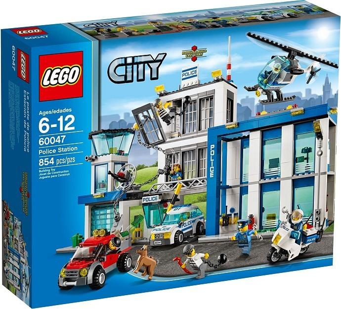 LEGO City 60047 Policejní stanice