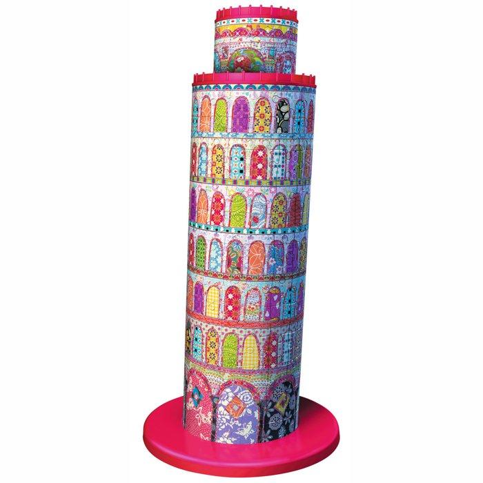 3D puzzle Šikmá věž v Pise Tula Moon 216 dílků Ravensburger