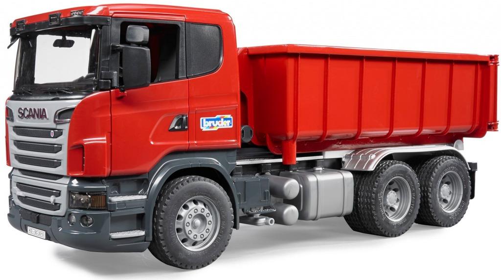BRUDER 3522 Nákladní auto SCANIA kontejner