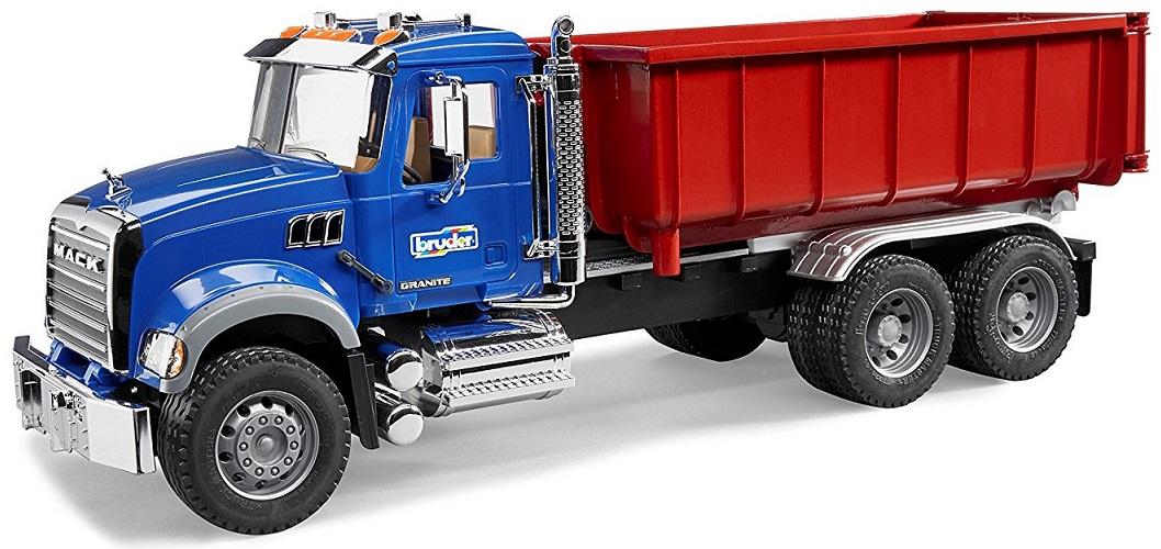 BRUDER 2822 Nákladní auto MACK Granit kontejner