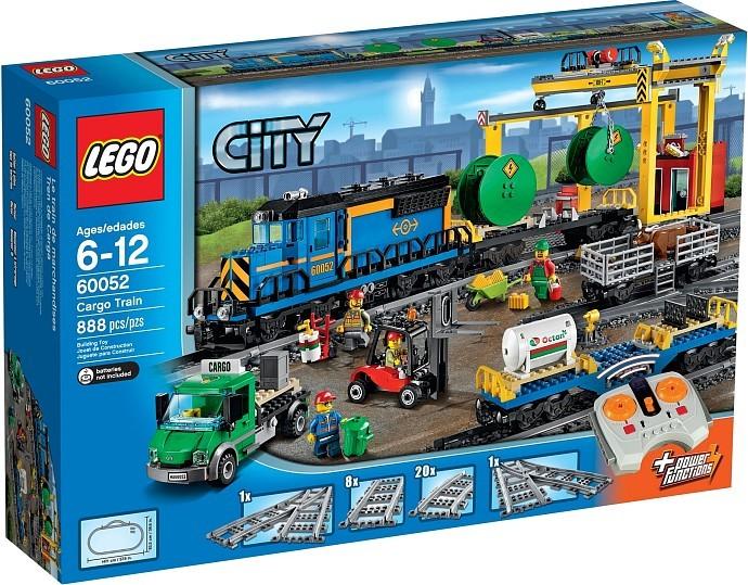LEGO City 60052 Nákladní vlak + ministavebnice LEGO® dle vlastního výběru