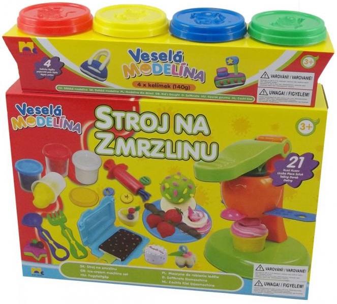 Mac Toys Veselá modelína Stroj na zmrzlinu
