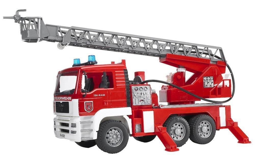 BRUDER 2771 MAN požární žebřík s majákem
