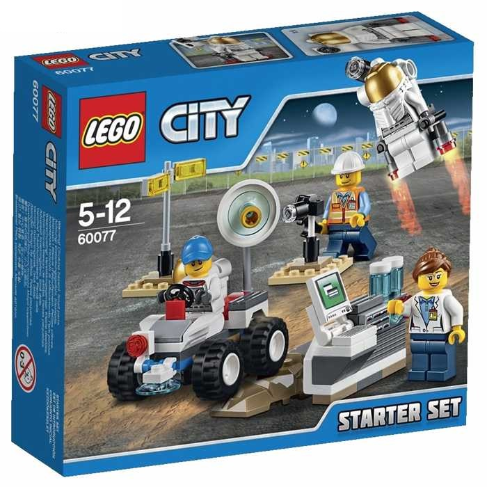 LEGO City 60077 Kosmonauti - startovací sada