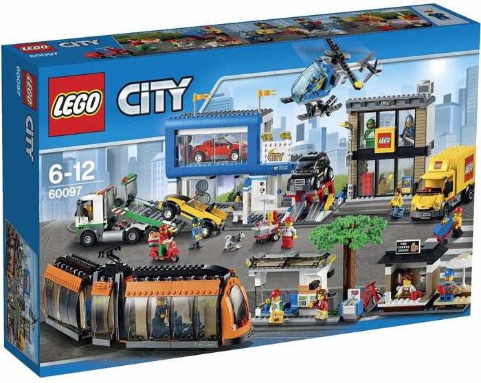 LEGO City 60097 Náměstí ve městě + ministavebnice LEGO® dle vlastního výběru