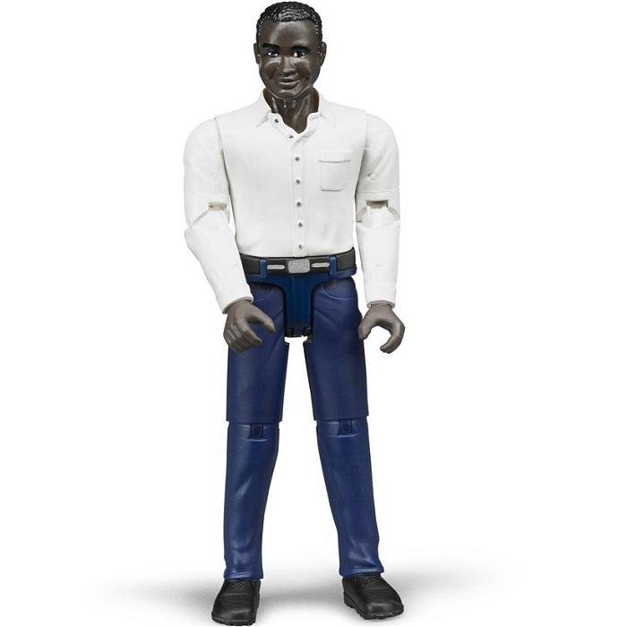 BRUDER 60004 Bworld Figurka MUŽ černoch a0f760cee8