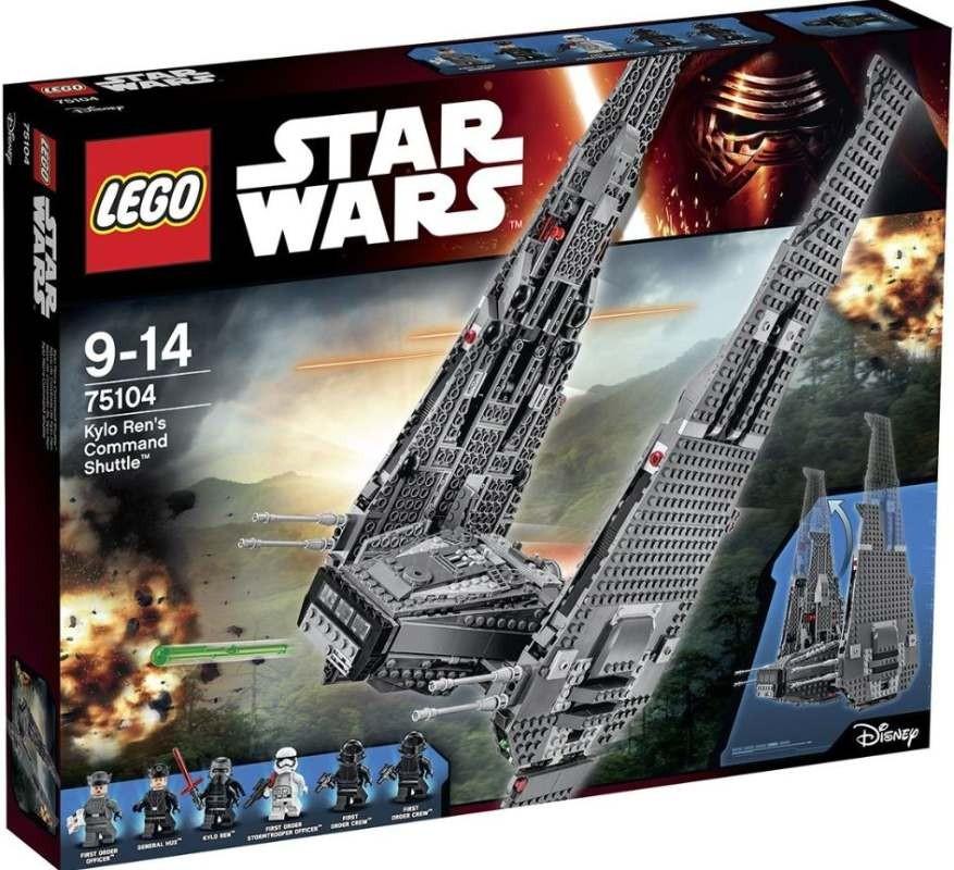 LEGO Star Wars 75104 Kylo Renova velitelská loď