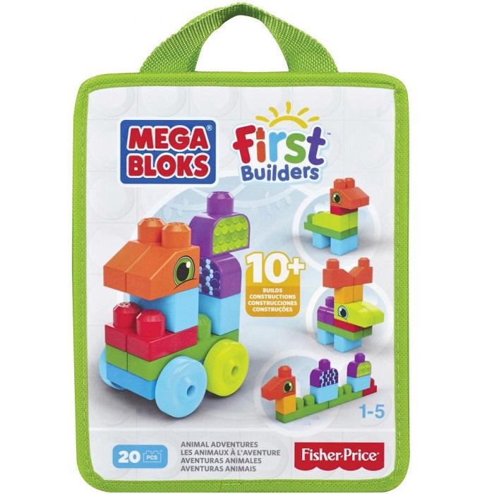 Mega Bloks FB Zvířátka 20 ks