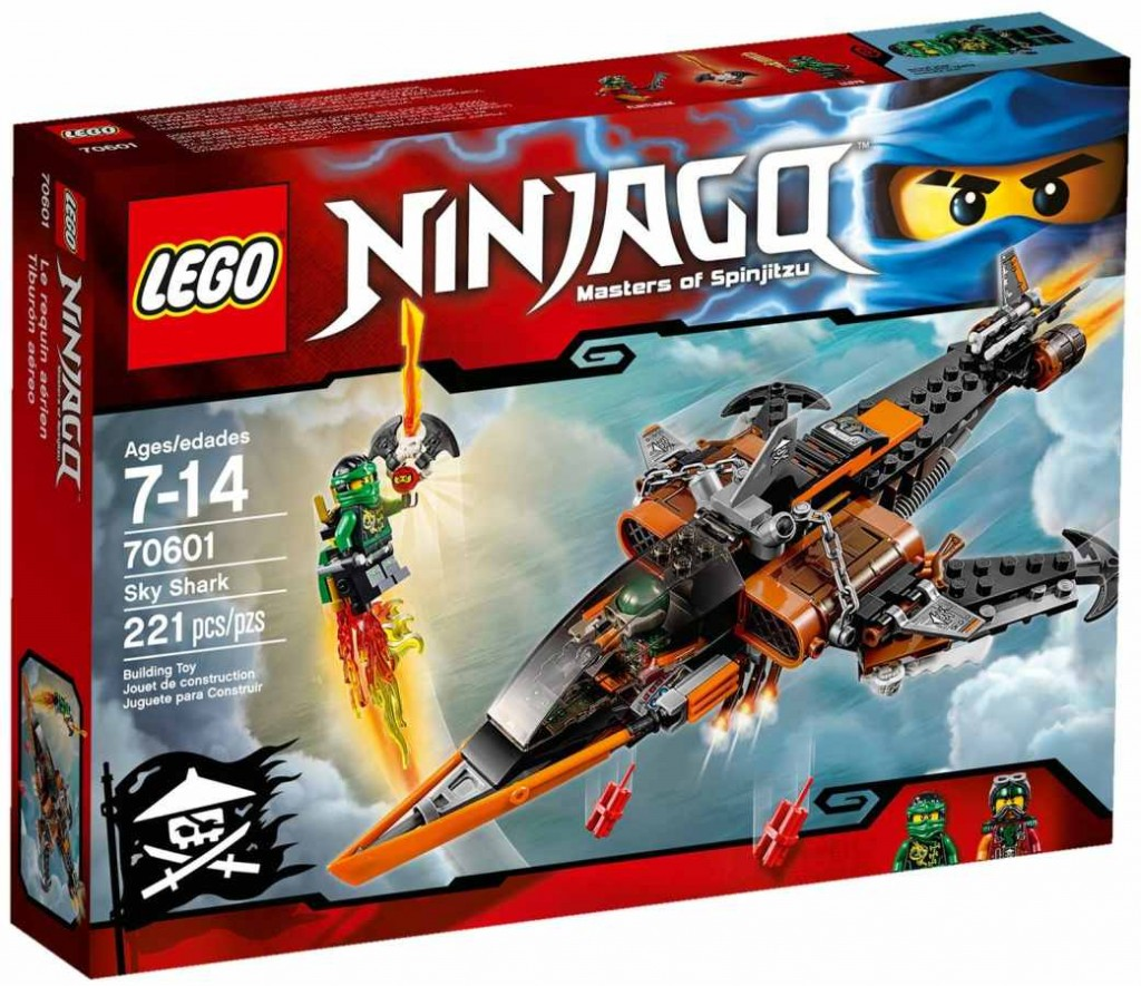 LEGO Ninjago 70601 Žraločí letoun