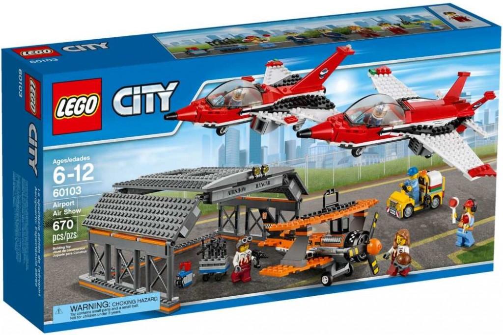 LEGO City 60103 Letiště – Letecká show