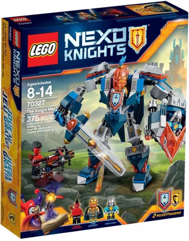 Lego Nexo Knights 70327 Králův robot