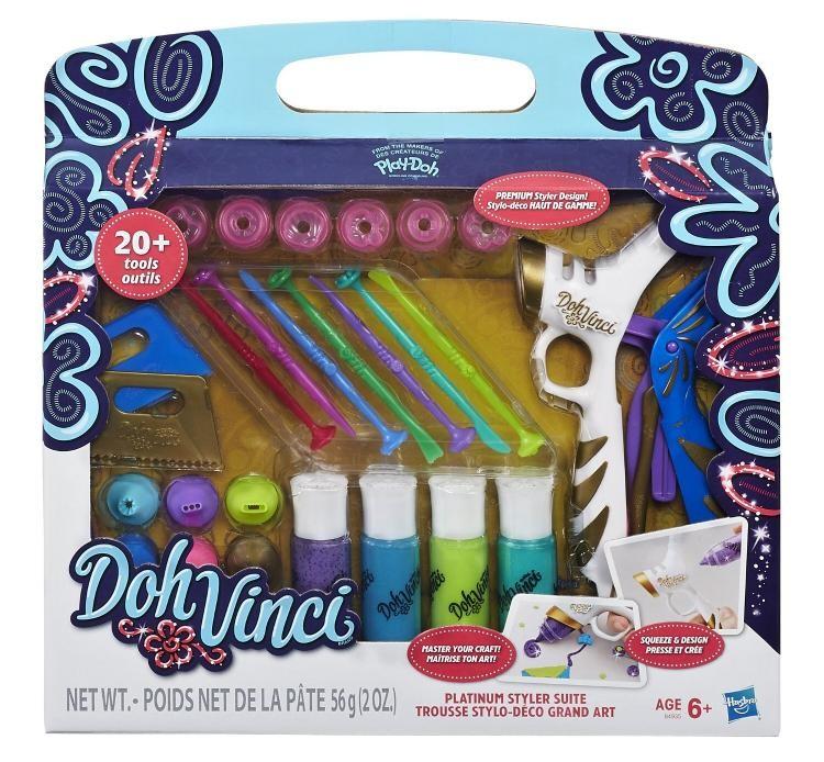 Play-Doh DohVinci Dekorační pistole set