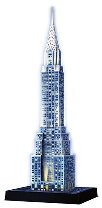 Ravensburger 3D puzzle Noční Chrysler Building 216 dílků