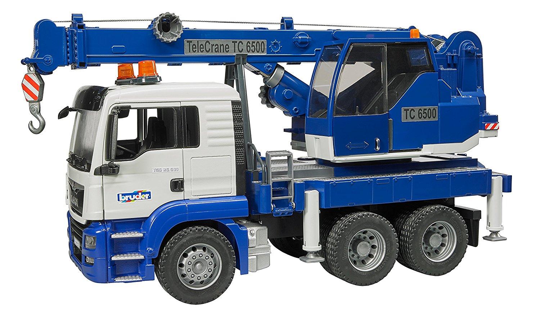 BRUDER 3770 Nákladní auto MAN TGS autojeřáb