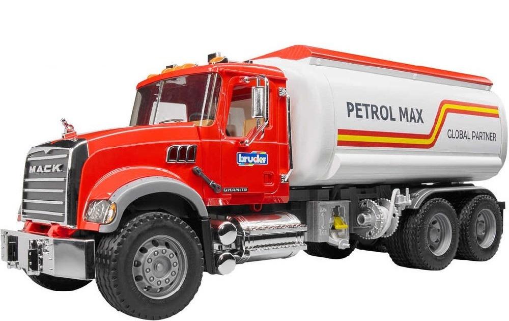 BRUDER 2827 Nákladní auto MACK Granit cisterna