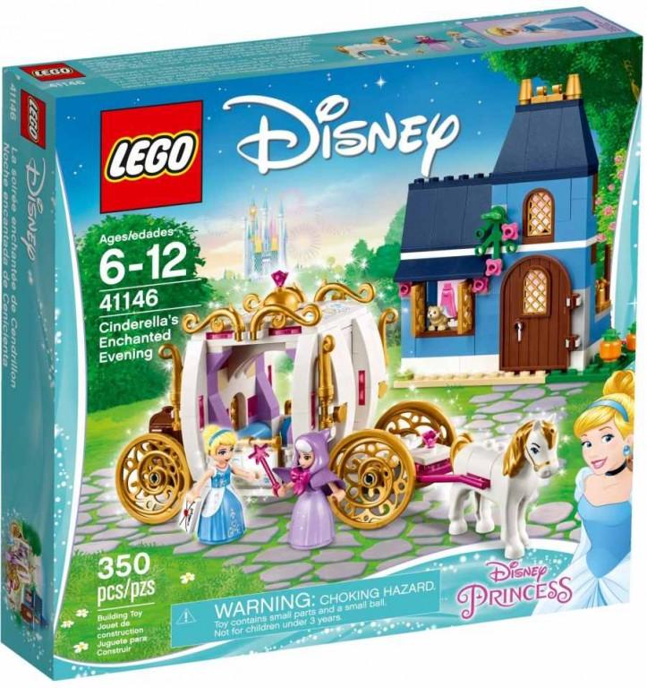 LEGO Disney Princezny 41146 Popelčin kouzelný večer
