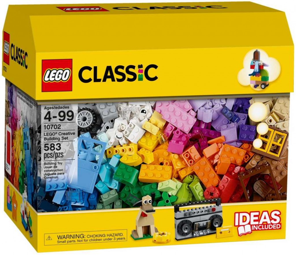 LEGO Classic 10702 Tvořivá sada
