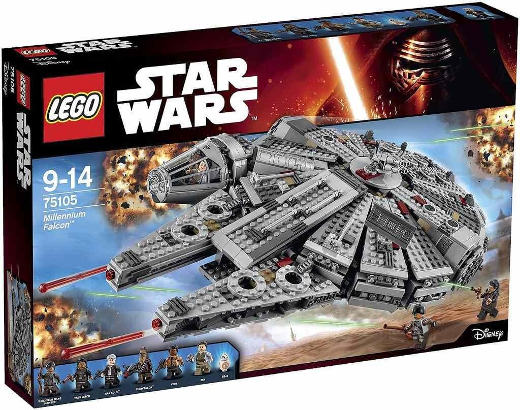 LEGO Star Wars 75105 Millennium Falcon + ministavebnice LEGO® dle vlastního výběru