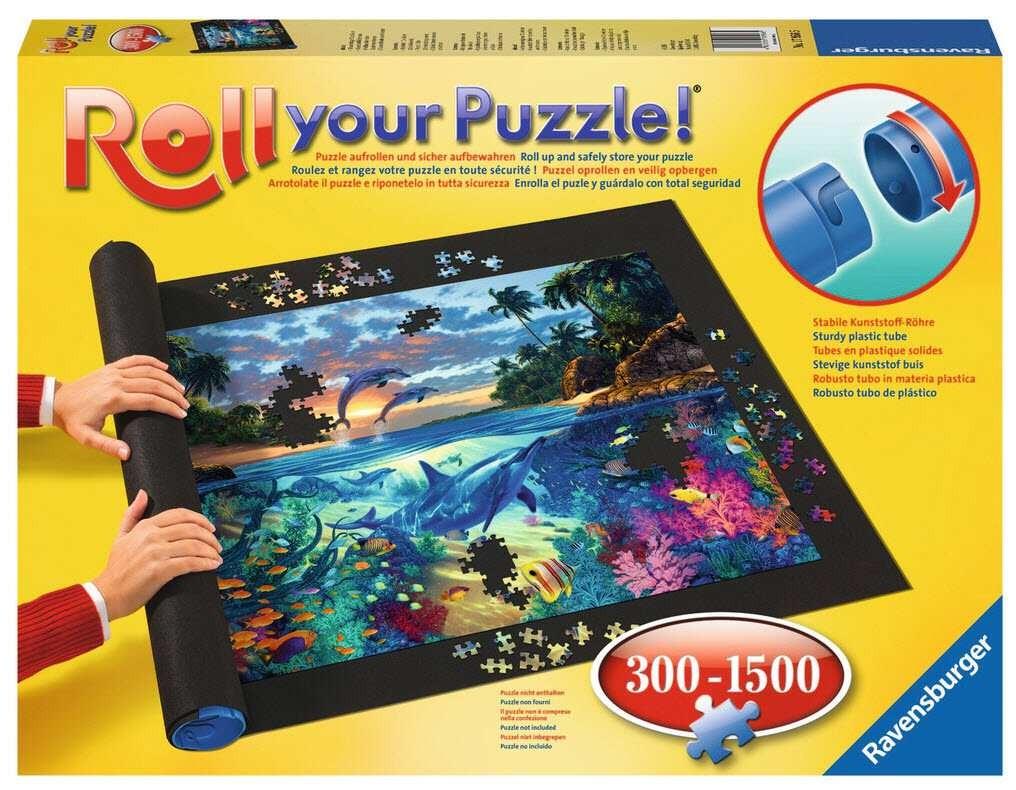 Podložka na sestavení puzzle až do 1500 dílků