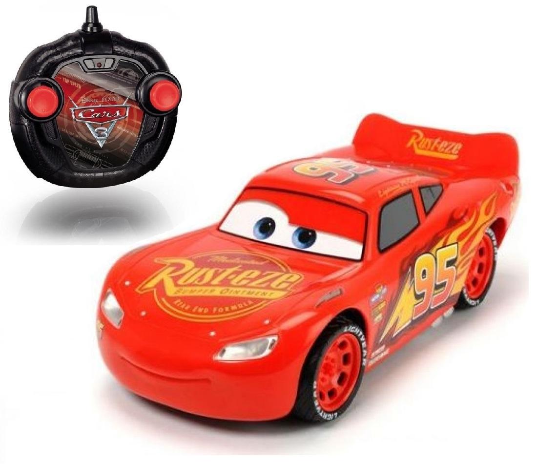 Dickie RC Cars 3 Turbo Racer Blesk McQueen 1:24 17 cm 2kan
