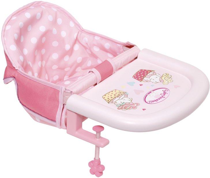 Zapf Creation Baby Annabell Jídelní židlička s uchycením na stůl