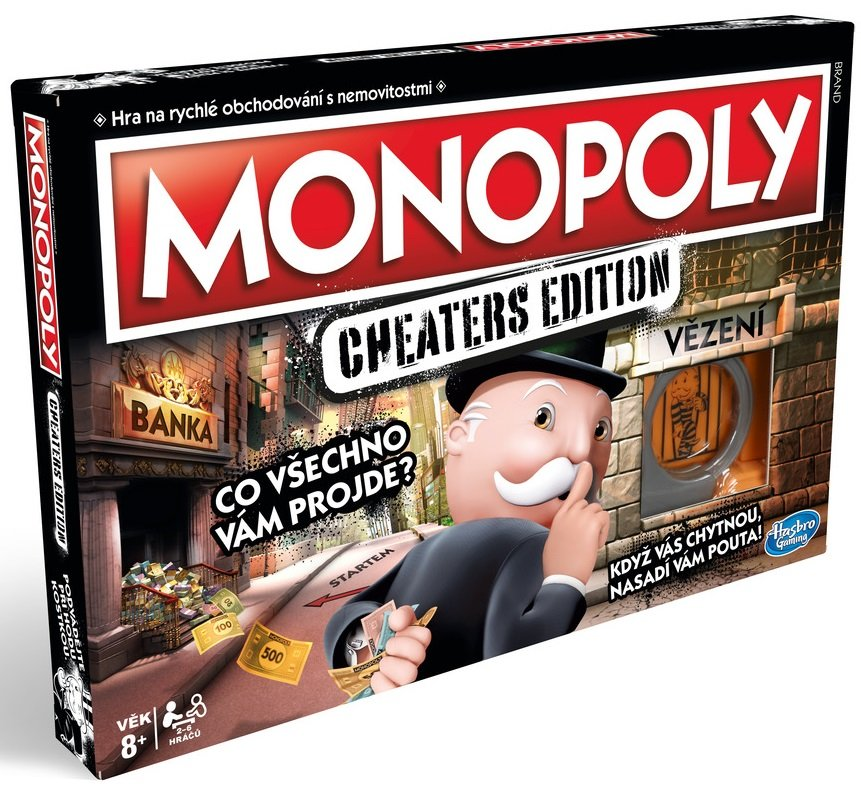 Monopoly: Cheaters edition CZ