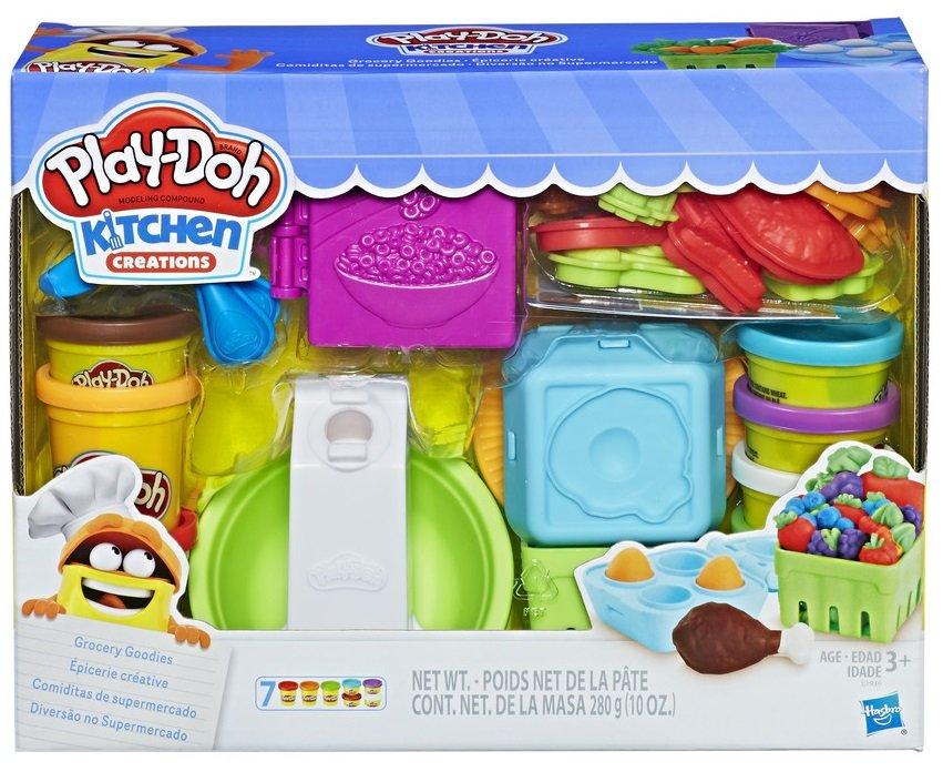 Hasbro Play-Doh Sada na výrobu potravin tvořítka