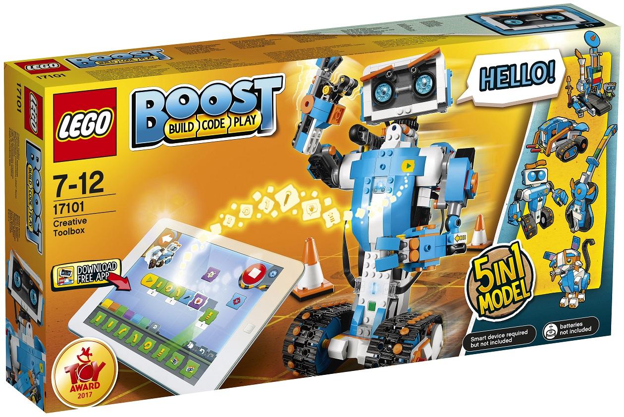 LEGO BOOST 17101 Tvořivý box LEGO® BOOST