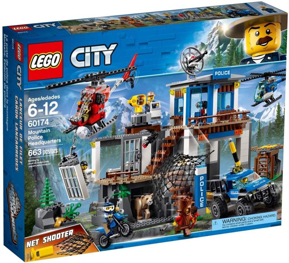 LEGO City 60174 Horská policejní stanice